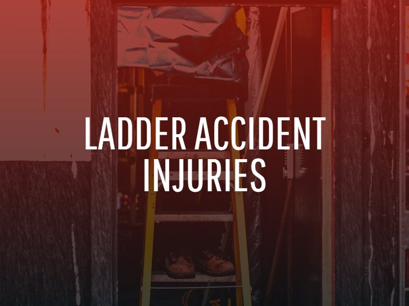 what are common ladder accident injuries