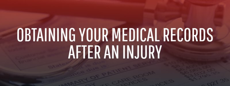 Obtain Your Medical Records After an Injury